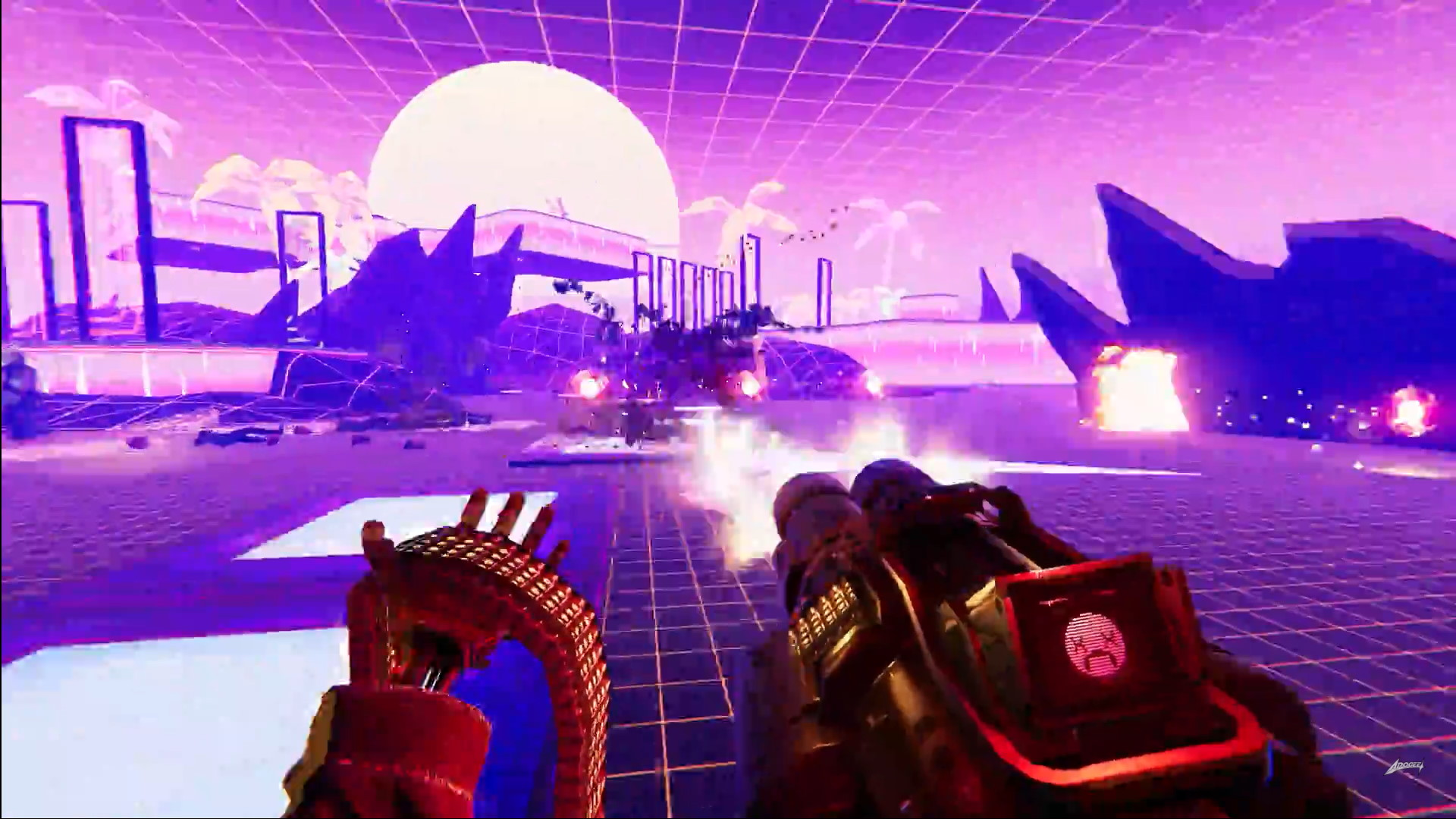 Brutal Cyberpunk FPS Turbo Overkill Unleashes Neon Nostalgia on PC,  Consoles 2022 - BunnyGaming.com