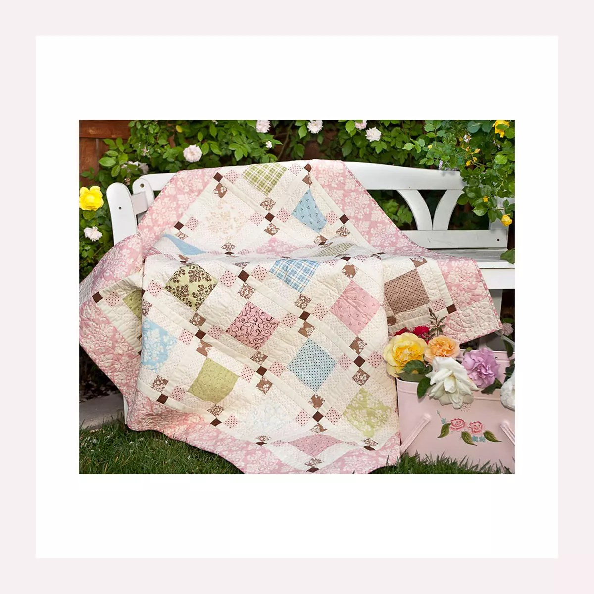 Pieced and Embroidery Quilts
