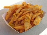 Battered chips!
