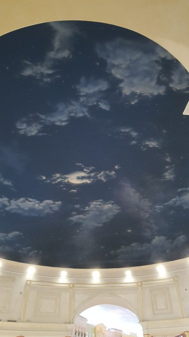 Ceiling in Villagio Mall