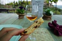 Vin Santo & a biscotti