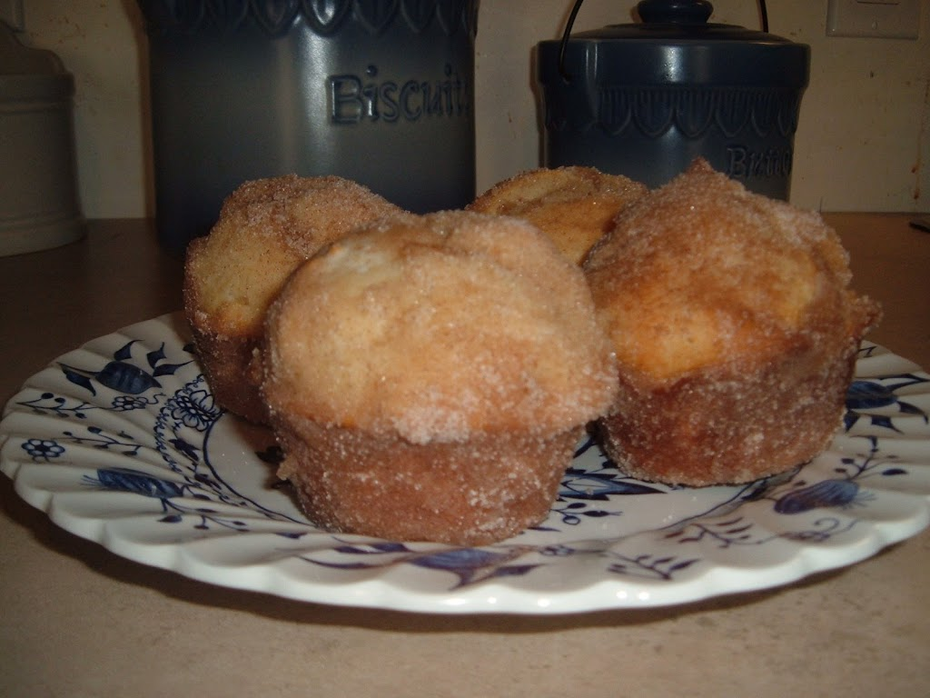 DONUT MUFFINS - Bunny's Warm Oven