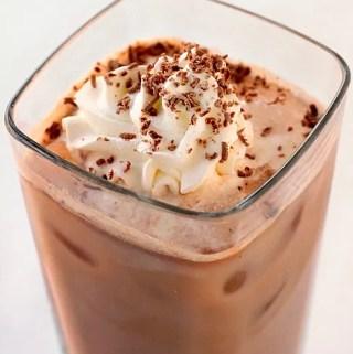 Iced Chocolate Latte