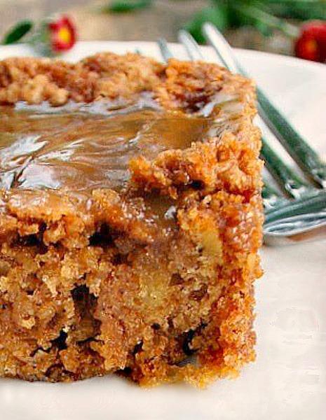 Mom's Best Apple Cake