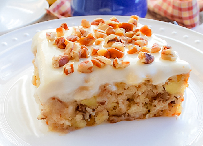 Carrot Cake Mix Pineapple Chunks