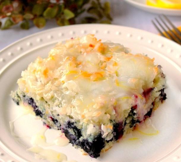 Coconut Blueberry Cake