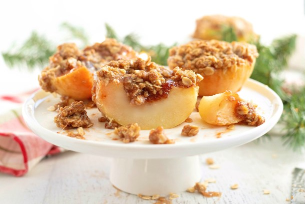 Single Serving Apple Crumble