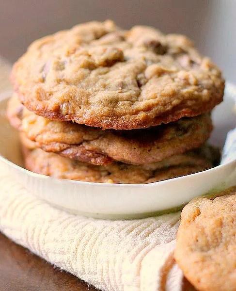 Chocolate Chip Toffee Walnut Cookies