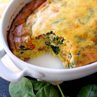 Spinach Egg Bake
