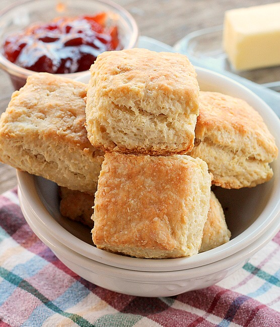 Cream Cheese Buttermilk Biscuits