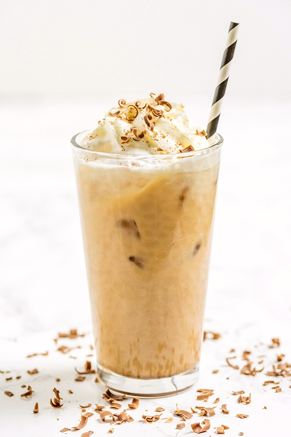 Iced Chocolate Latte