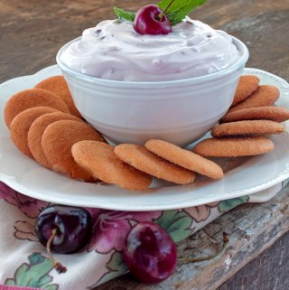 Sweet Cherry Fruit Dip