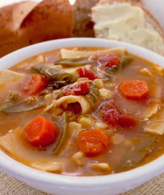 Crock Pot Chicken Vegetable Soup