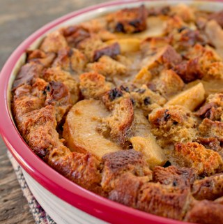 Apple Raisin bread Clafouti