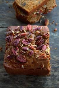 Pecan Sweet Potato Quick Bread