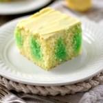Lemon Lime Poke Cake