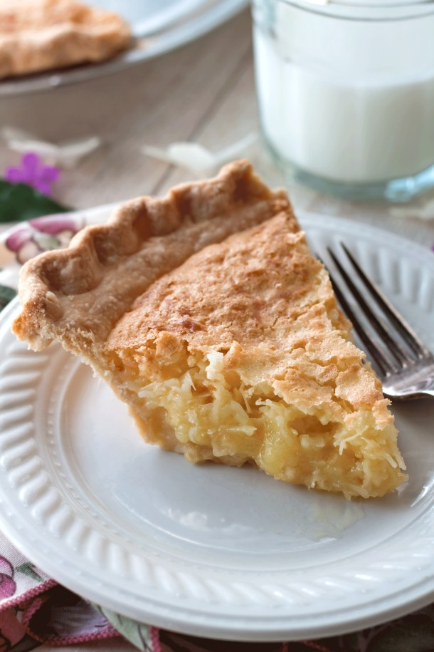 French Coconut Pie (Trisha Yearwood Recipe)