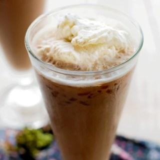 Hazelnut Coffee Cooler