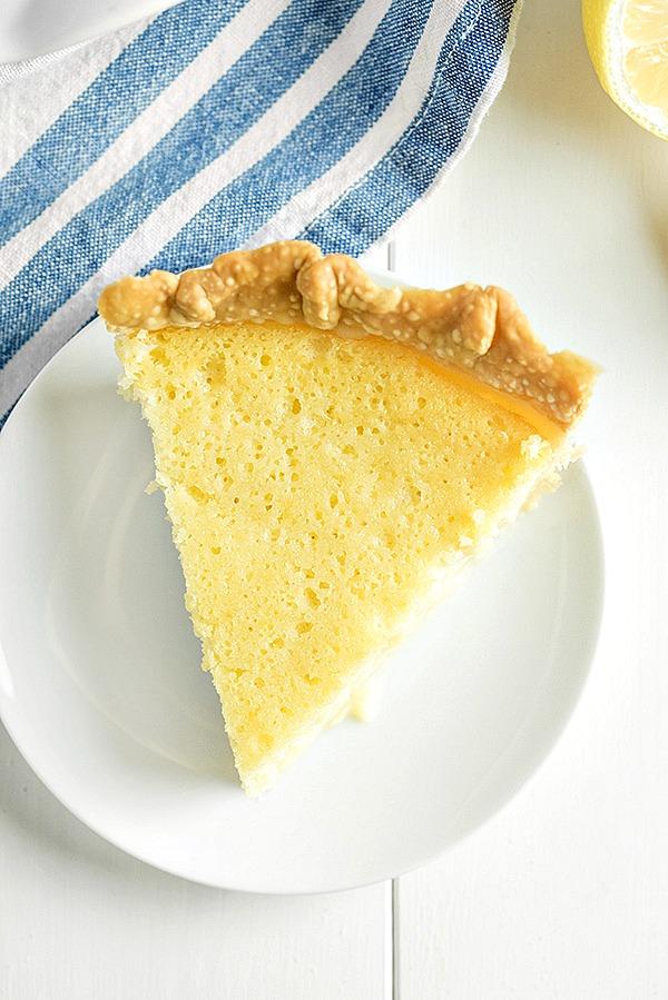 Fashioned Lemon Cookie Recipe: Old Fashioned Buttermilk Lemon Pie