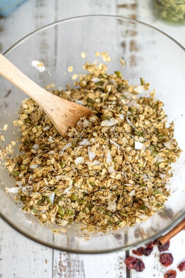 Homemade Nut Free Granola Recipe