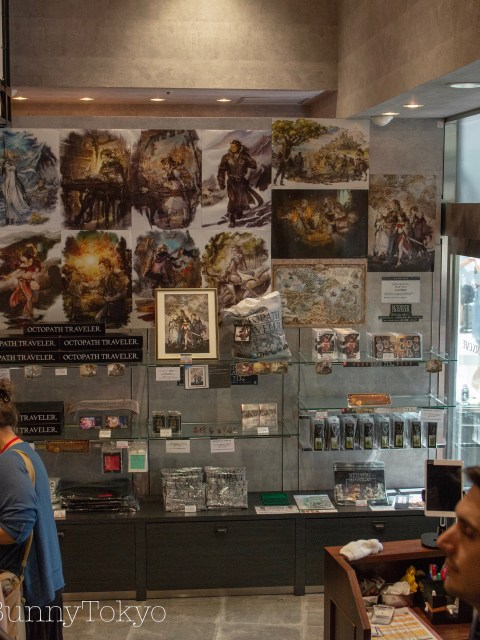 the Octopath Travaler Collaboration at Square Enix Cafe