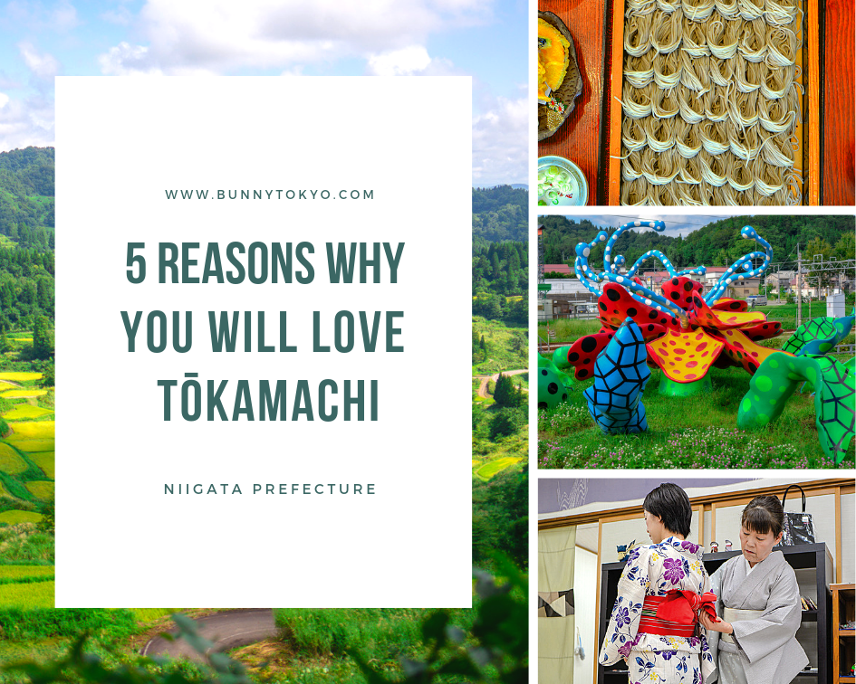 5 reasons why you will love Tōkamachi