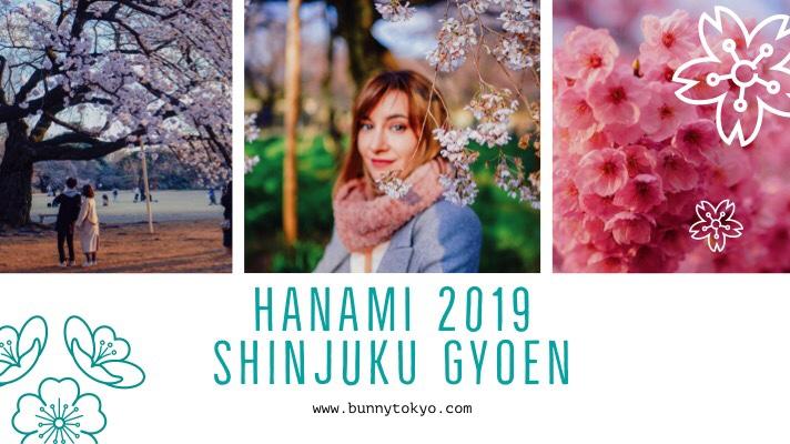 Tokyo Hanami 2019: Shinjuku Gyoen