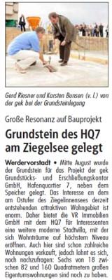 Originalartikel Hauspost 01.09.2012