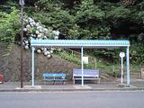 小坪のバス停
