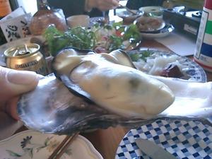 プルプルの牡蠣