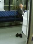 横須賀線にて