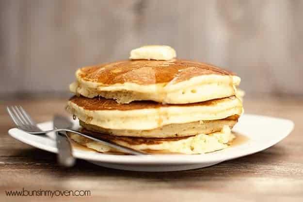 Classic Buttermilk Pancake Recipe