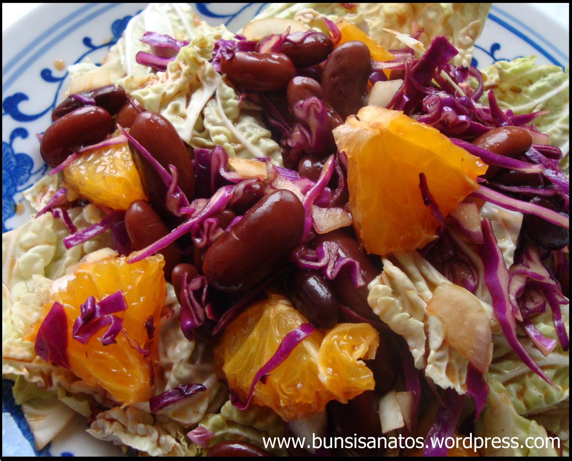 Salata de fasole cu portocale