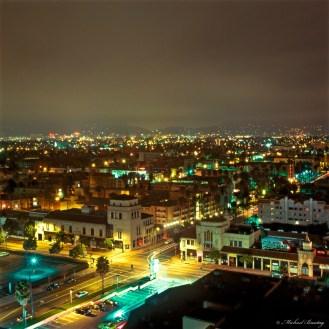 The Gaylord, Mid-Wilshire, Los Angeles, California. Fuji RHPIII 400F Provia Positive 120 mm Slide Film.