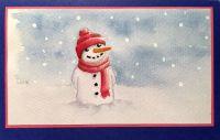 Weihnachtskarte_Schneemann