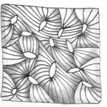 Zentangle Muster Yuma