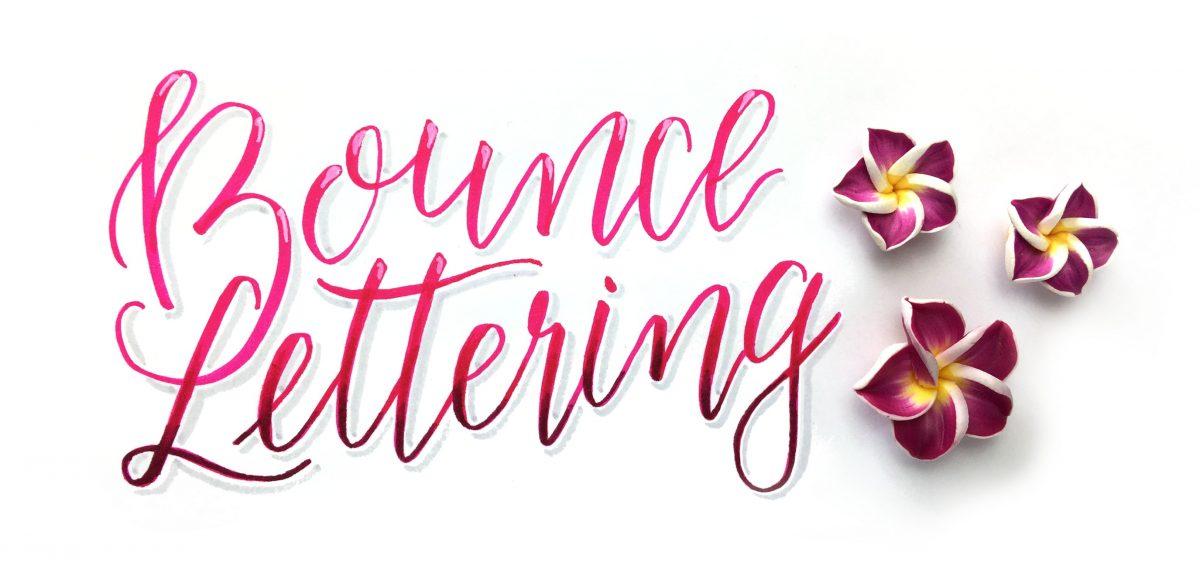 Bounce Lettering Workshop