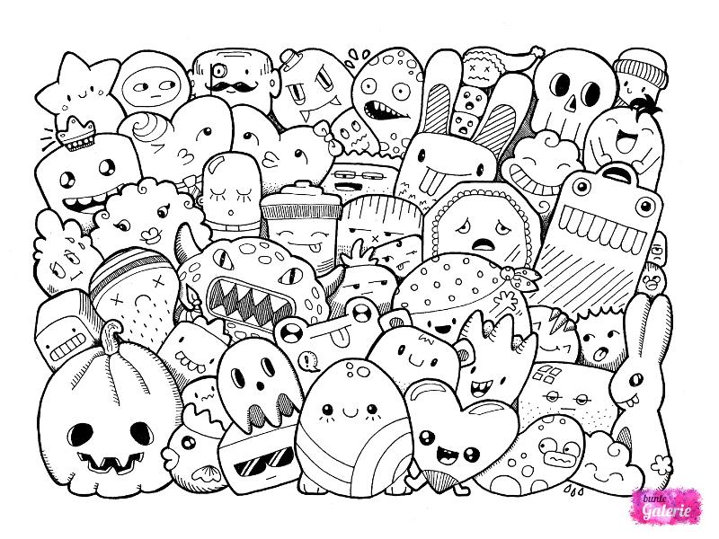 Zeichnungen Und Illustrationen Bunte Galerie