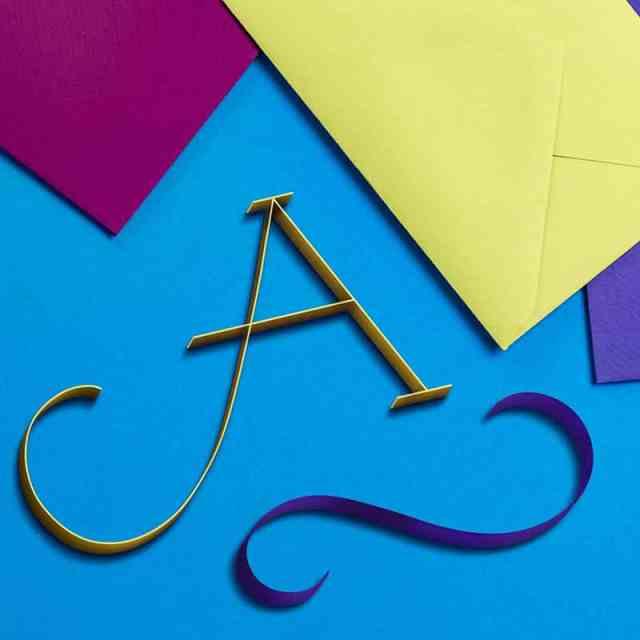 Ein A wie aus Papier
