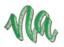 3D Lettering mit Brushpen und Micron