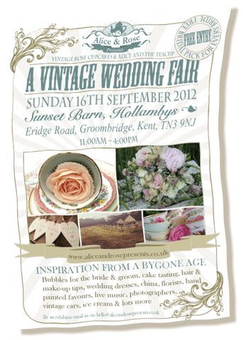 Alice and Rose Presents: A Vintage Wedding Fair