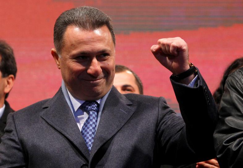 Nikola Gruevski Macedonia