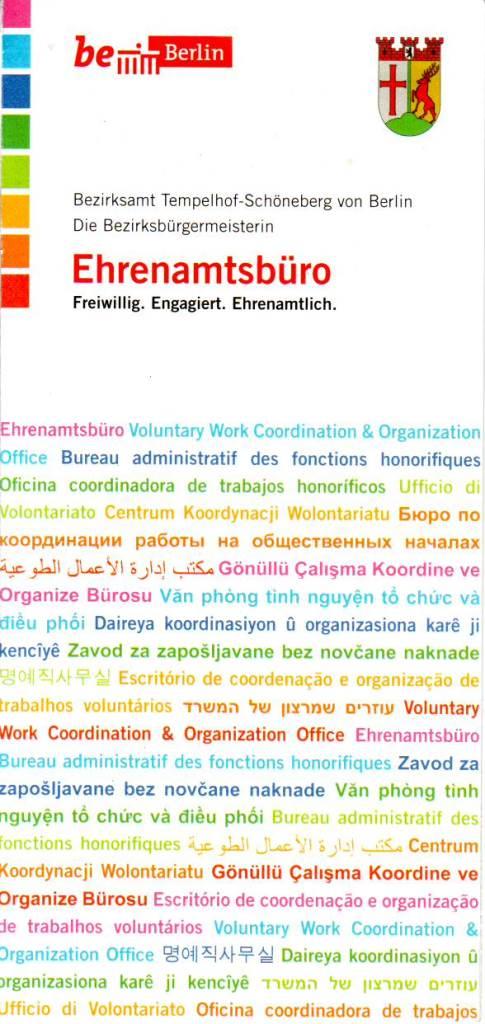 BS Info - Ehrenamtsbüro 20160401 ©BezTemplhSchbgBerlin