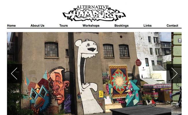 Street Art Touren & Workshops in Hamburg mit Alternative Hamburg*