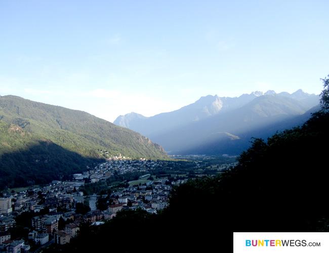 Chiavenna * Das Ende der Via Spluga * BUNTERwegs.com