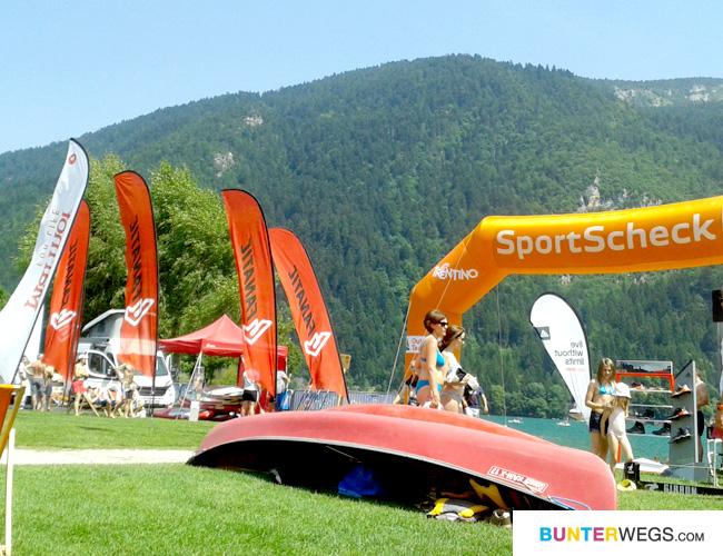 Das SportScheck OutdoorTestival in Molveno / Trentino