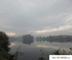 Der Elberadweg zwischen Mělník und Nelahozeves , Tschechien * BUNTERwegs.com