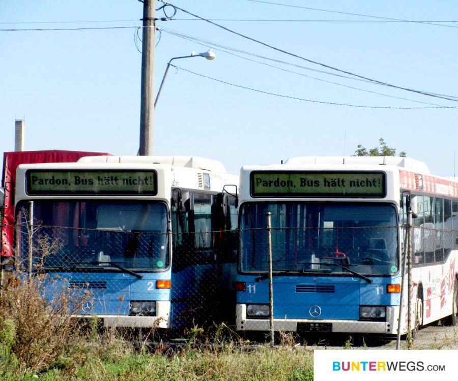 Pardon ... ausrangierte Busse in Rumänien * BUNTERwegs. Der Outdoor Blog für Frauen mit Liebe zum Wandern und zur Street Art