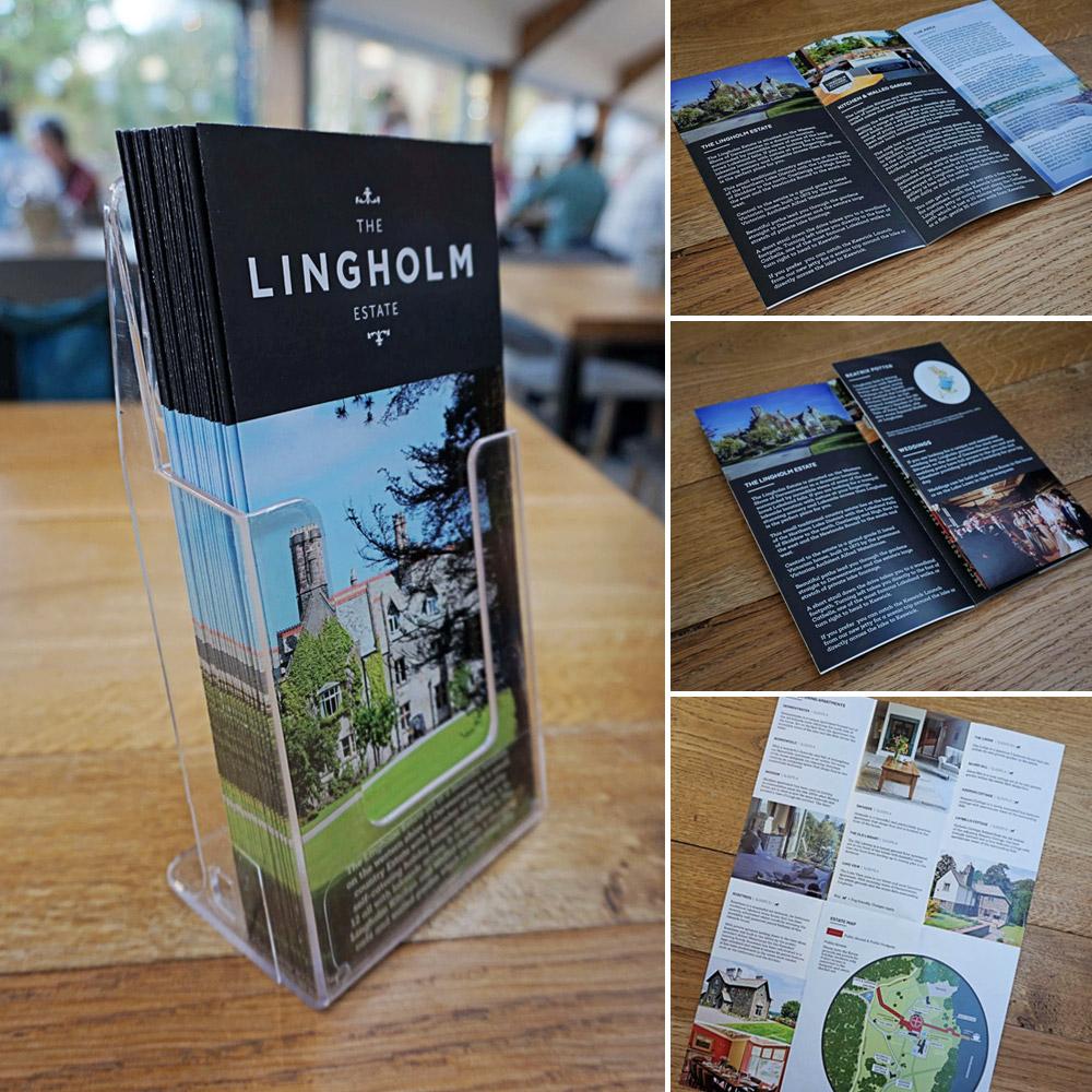 Leaflet design cumbria