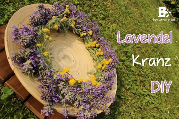 Lavendel Kranz